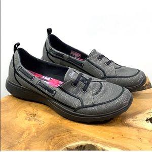 Skechers Memory Foam Microburst Slip-on Shoes Sz 9